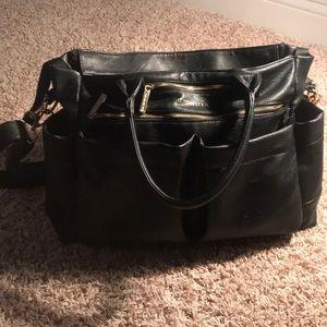 The honest company diaper bag - black was $170